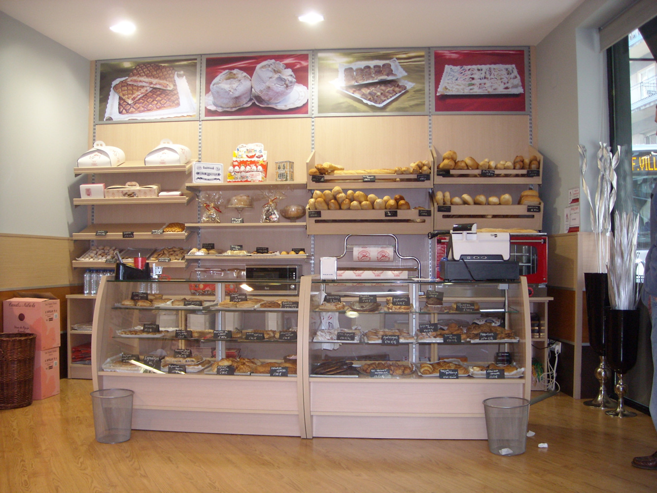 Venta de mostradores para tiendas