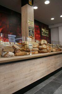 Mostradores para panaderías